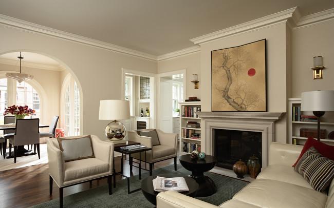 Summit Avenue Villa Family Room