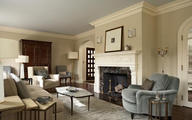 Summit Avenue Villa Living Room