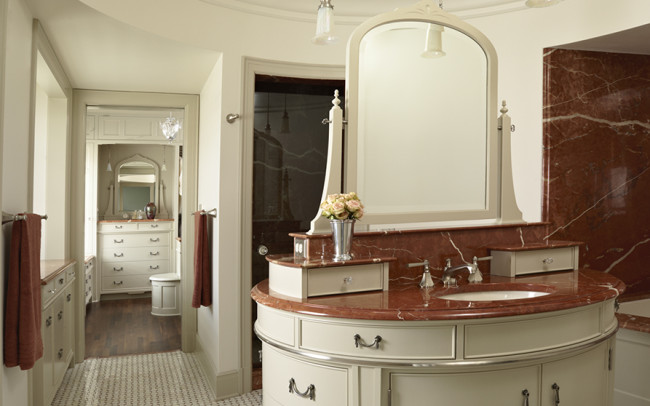 Summit Avenue Villa Master Bath