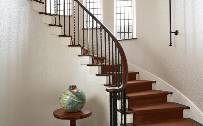 Summit Avenue Villa Stair Hall