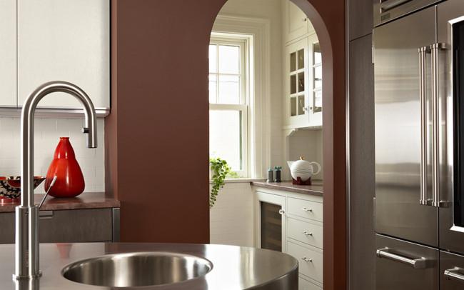 Summit Avenue Villa Kitchen Butlers Pantry