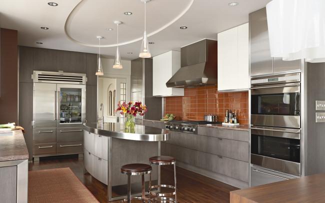 Summit Avenue Villa Kitchen