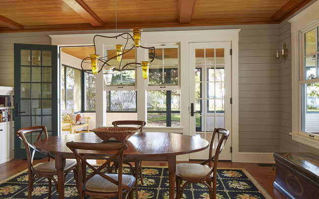 Crane Island Retreat Dining Room