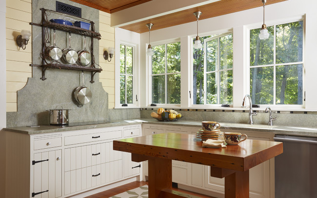 Crane Island Retreat Kitchen