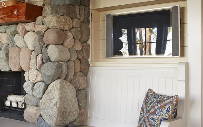 Crane Island Retreat Living Room