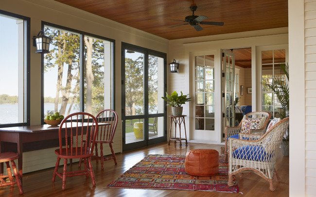 Crane Island Retreat Screened Porch