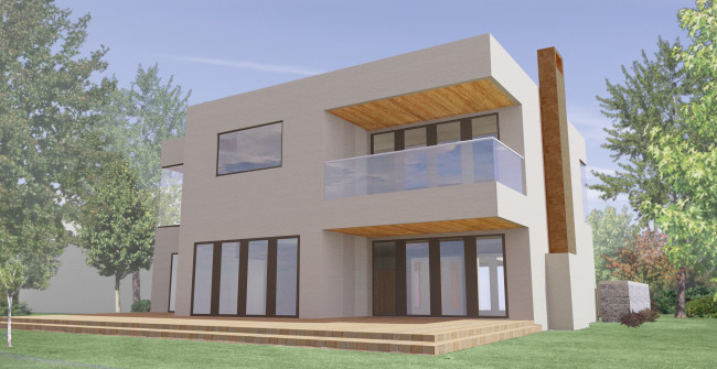 Residence Render of Exterior