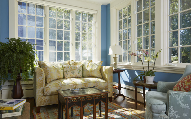 Lake of the Isles Cottage Sun Room