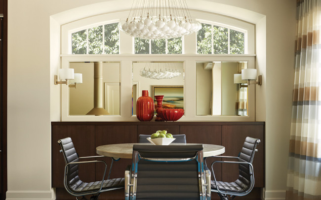Sioux Falls Residence Dining Room