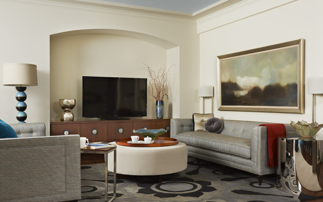 Sioux Falls Residence Living Room