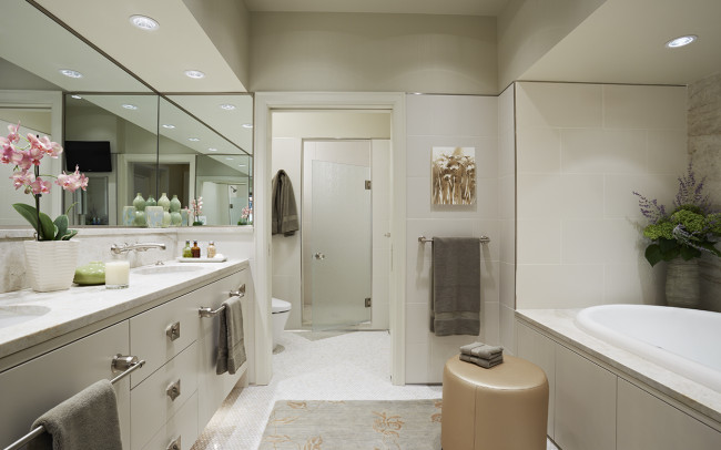 Sioux Falls Residence Master Bathroom
