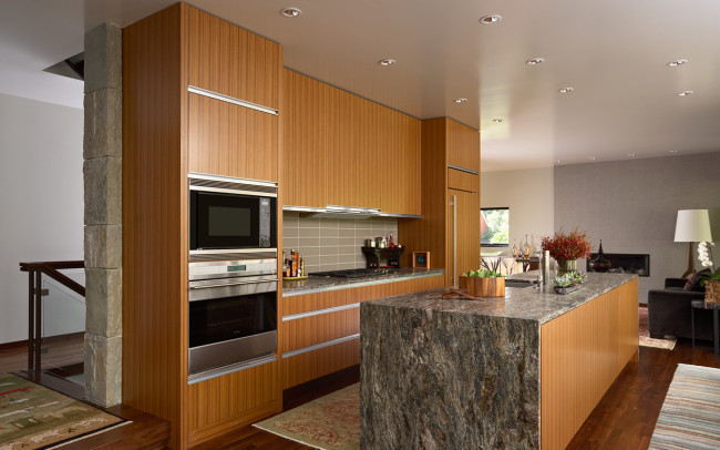 University Grove Residence Kitchen