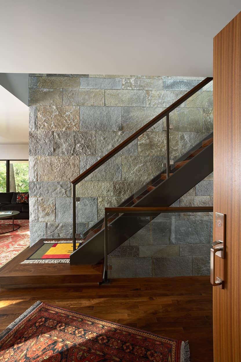 University Grove Residence Stairs