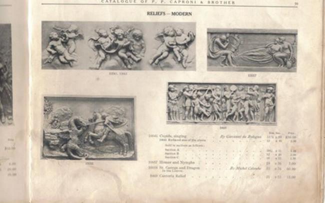 1914 Plaster Frieze Catalog