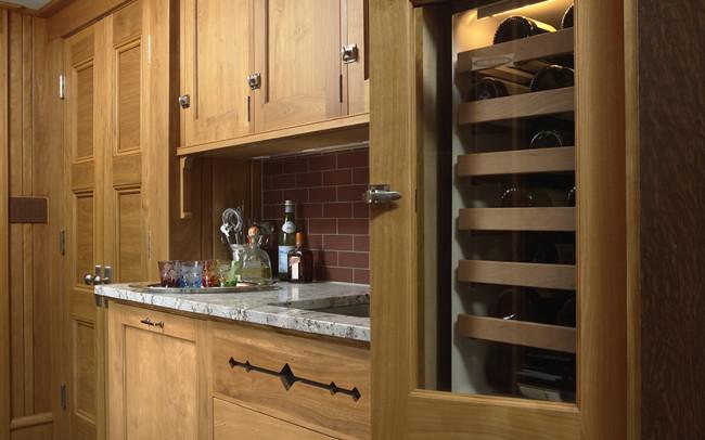 Arts & Crafts Kitchen Butler's Pantry