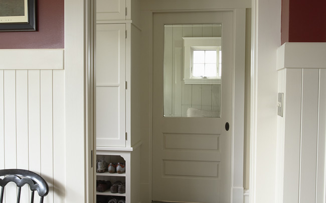 Crocus Hill Foursquare Mudroom
