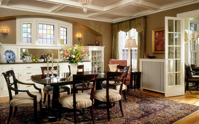 Crocus Hill Tudor Dining Room