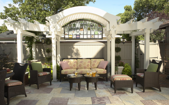 Crocus Hill Tudor Outdoor Living
