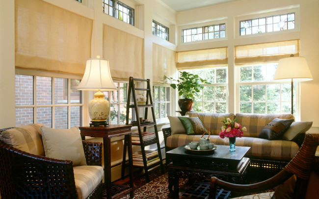 Crocus Hill Tudor Sunroom