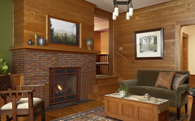 Deephaven Craftsman Family Room