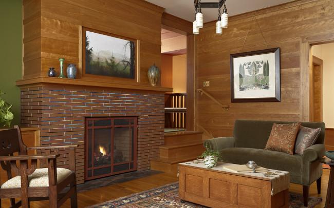 Deephaven Craftsman Family Room