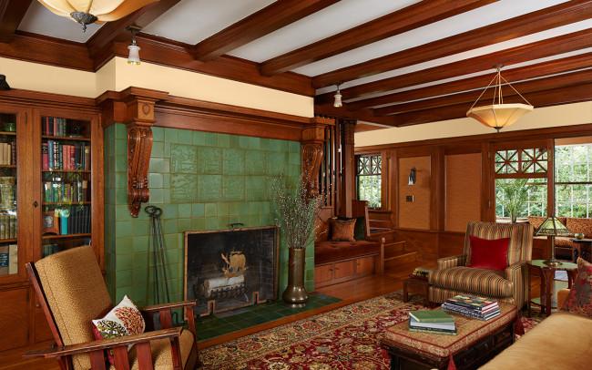 Deephaven Craftsman Living Room