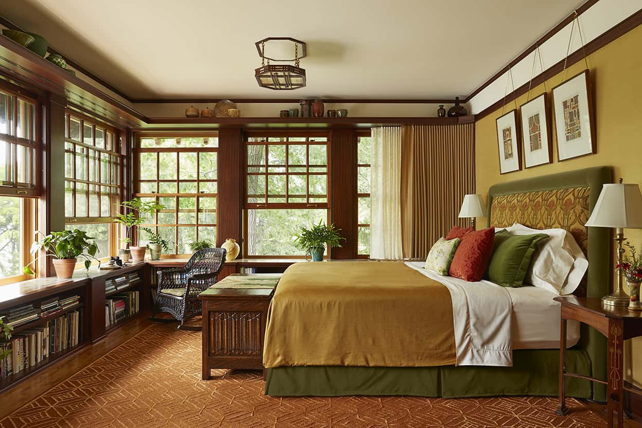 bedroom marvelous ideas with wooden roofs | Deephaven Craftsman Remodel | David Heide Design Studio