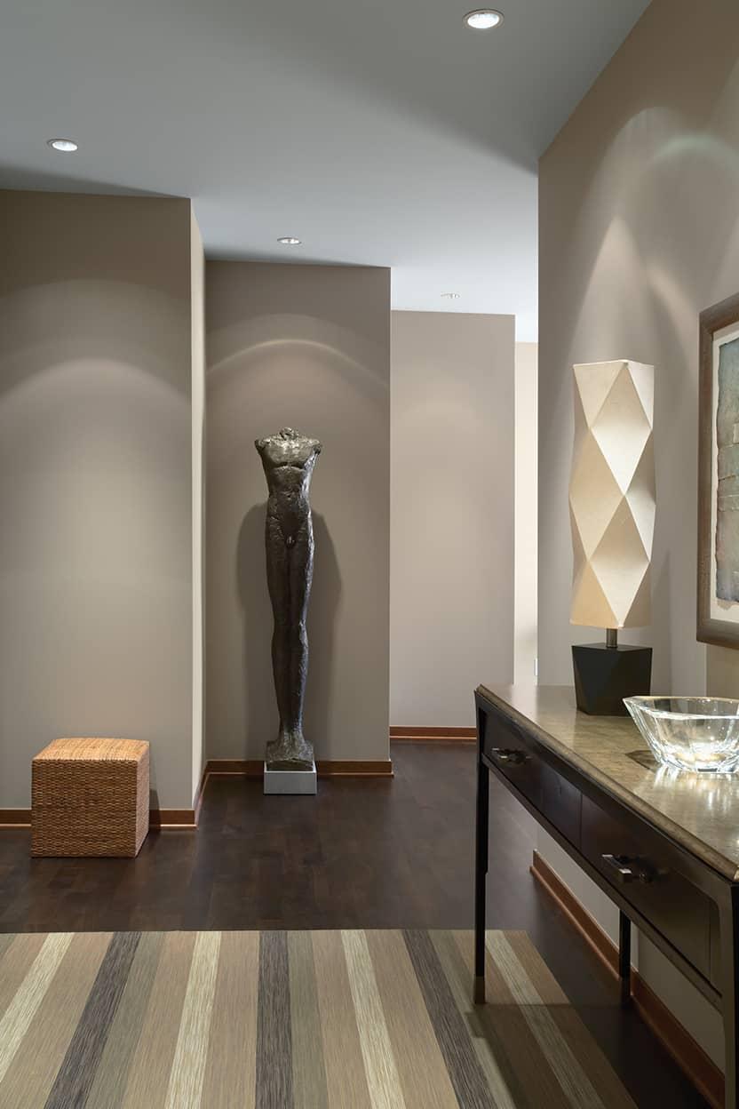 Condo Foyer Design : Downtown riverfront condo remodel david heide design studio