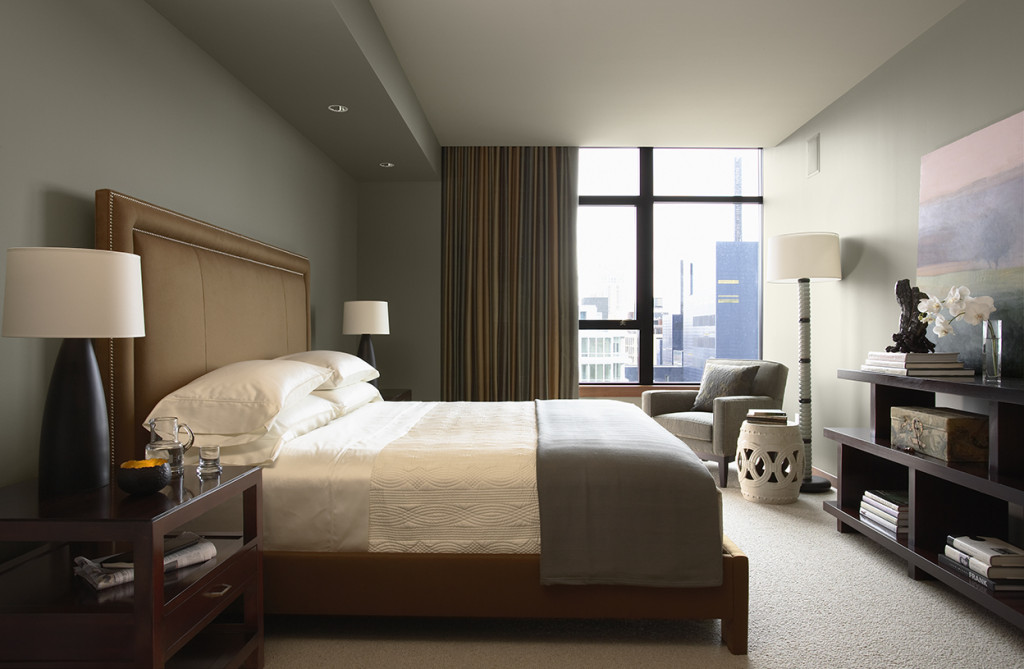 Downtown Riverfront Condo Master Bedroom