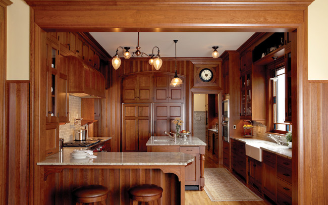 Kenwood Queen Anne Kitchen
