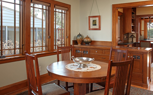Montrose Place Bungalow Dining Room