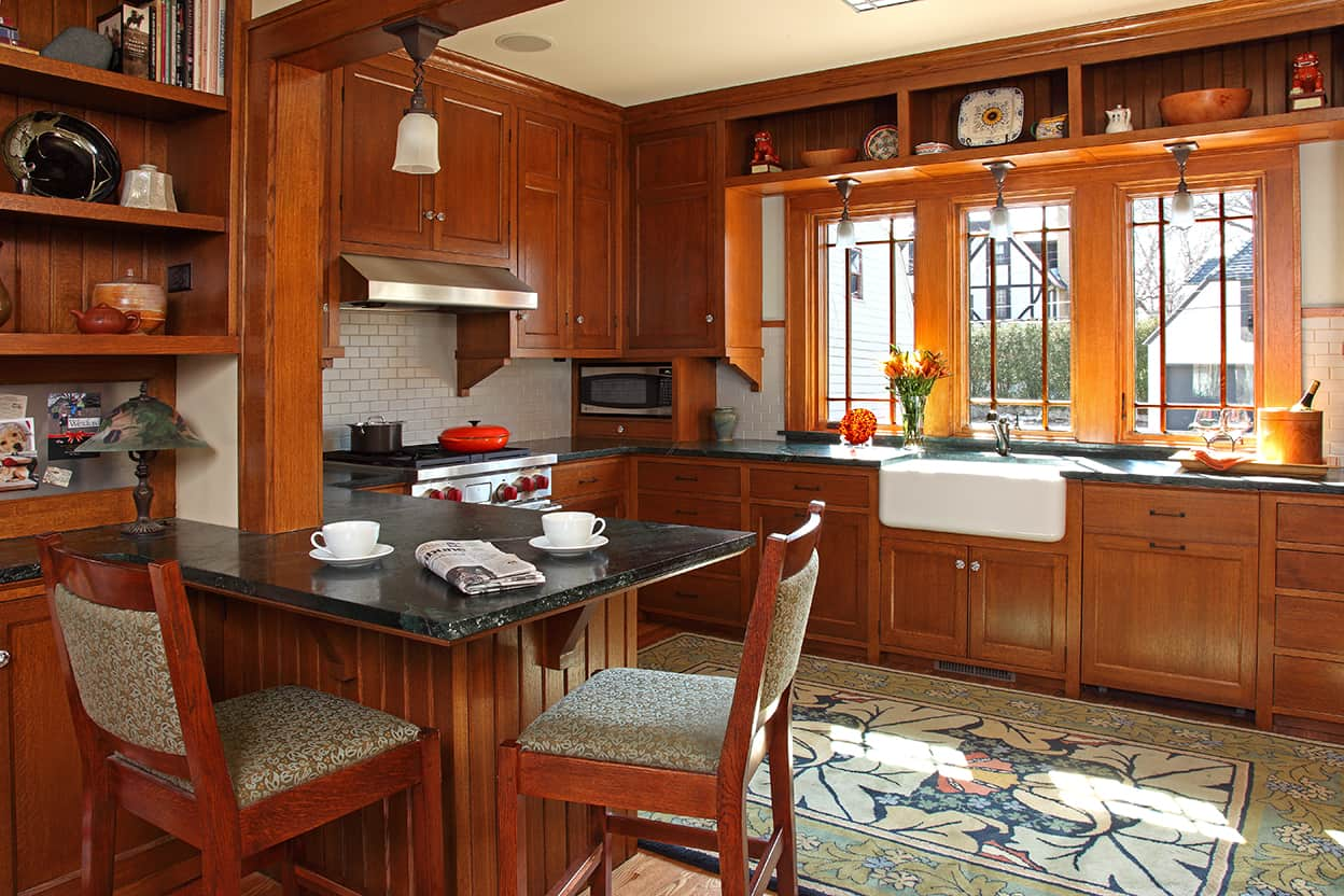 Narrow Galley Kitchen Dining Room