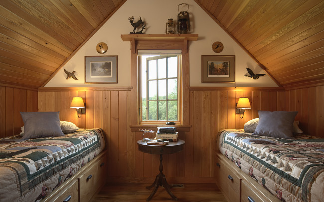 Otter Tail Hunting Lodge Bunk Room