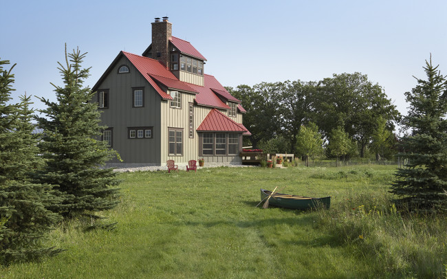 Otter Tail Hunting Lodge Exterior