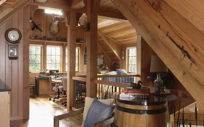 Otter Tail Hunting Lodge Game Room