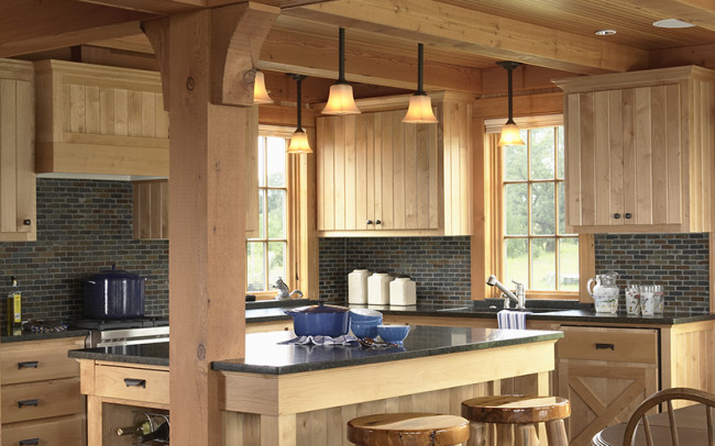 Otter Tail Hunting Lodge Kitchen