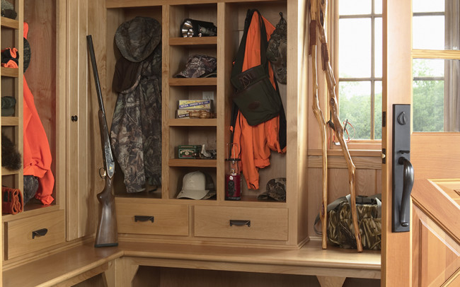 Otter Tail Hunting Lodge Mudroom