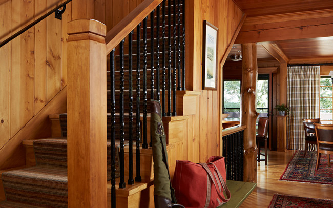Saint Croix River Cabin Foyer