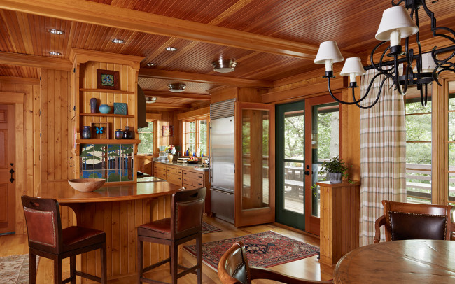 Saint Croix River Cabin Kitchen