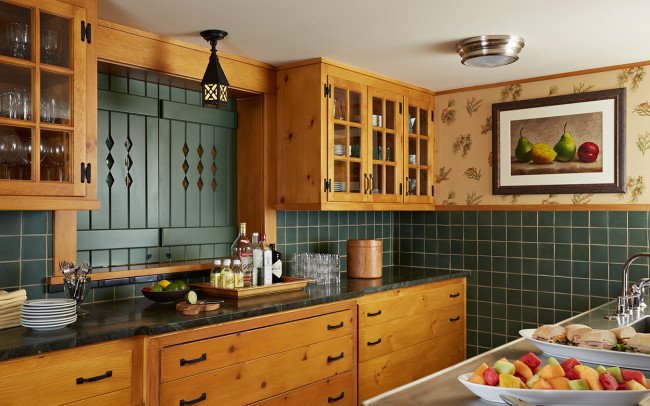 Saint Croix River Cabin Kitchen