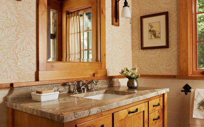 Saint Croix River Cabin Powder Room