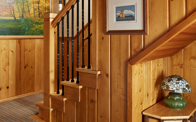 Saint Croix River Cabin Stairs