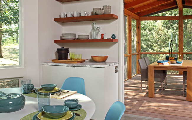 Saint Croix River Modern_Dining Room