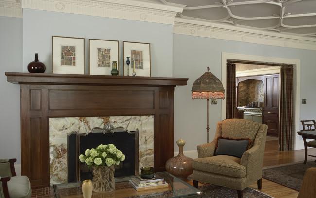 Summit Avenue Condo Living Room