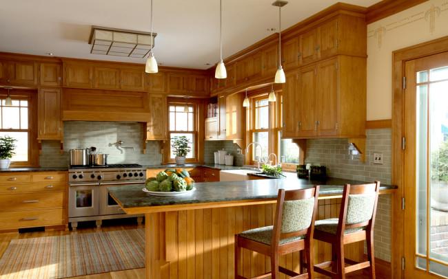 Summit Avenue Prairie School Kitchen