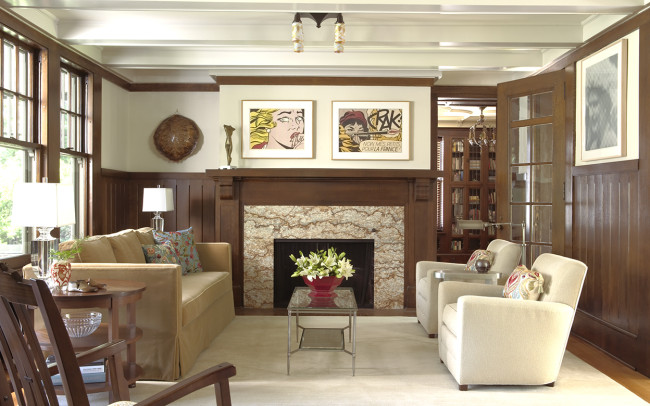 Summit Hill Residence Living Room