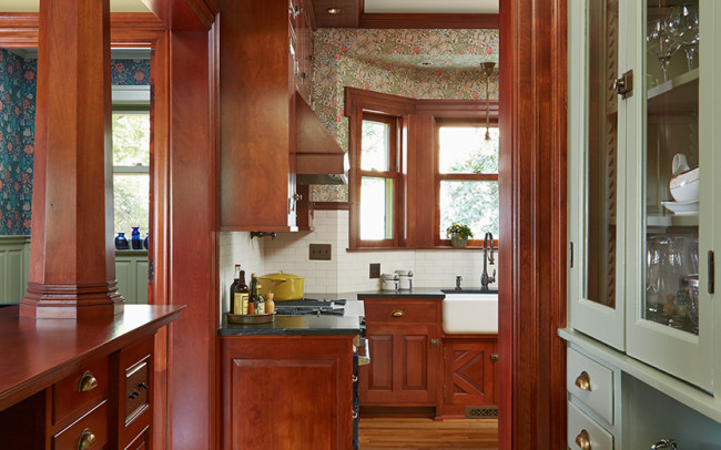 Whittier Foursquare Kitchen