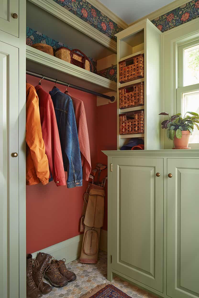 Whittier Living Room Interior Decorator: Whittier Foursquare Remodel