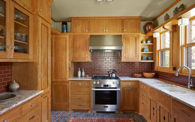 Union Park Prairie School Kitchen