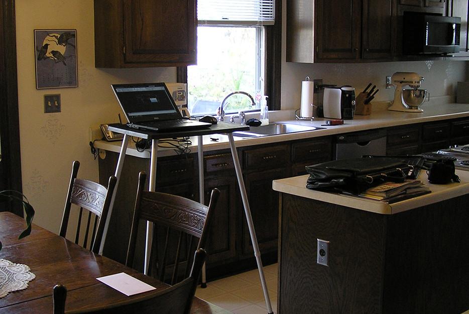Cass Gilbert Shingle-Style Kitchen BEFORE